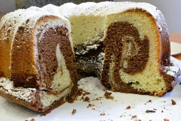 Κέικ μαρμπρέ ή γεωγραφίας