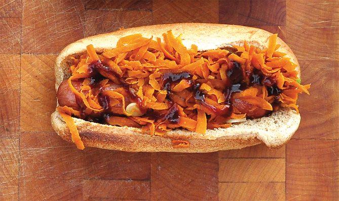 Χοτ Ντογκ (με καρότο)