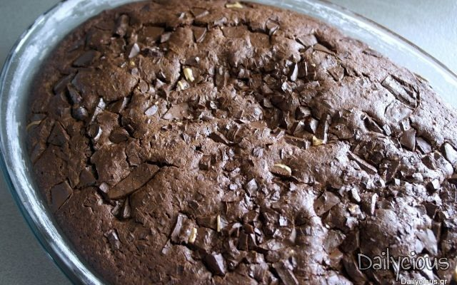 Κέικ σοκολάτας με γιαούρτι