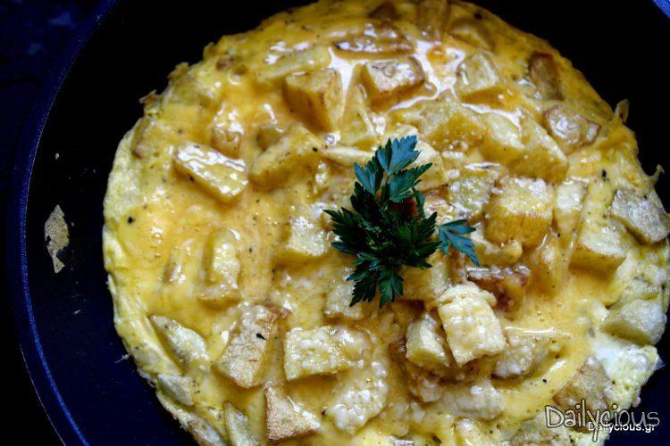 Ομελέτα με πατάτες