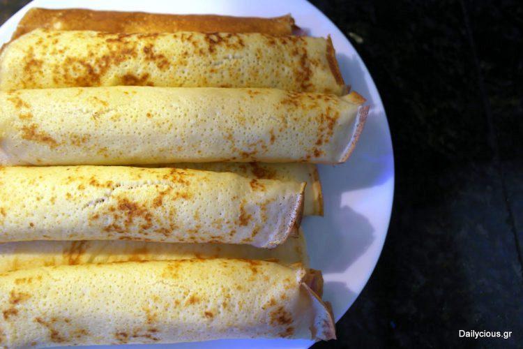 Βασική συνταγή για κρέπες (γλυκές ή αλμυρές)