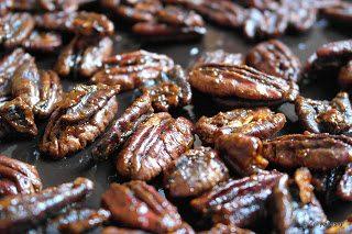 Καραμελωμένοι, πικάντικοι ξηροί καρποί