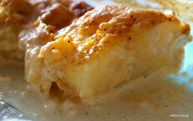 Γαλλικές πατάτες φούρνου (Ογκρατέν)