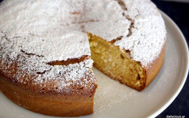 Κέικ με μέλι κι αλεσμένα αμύγδαλα