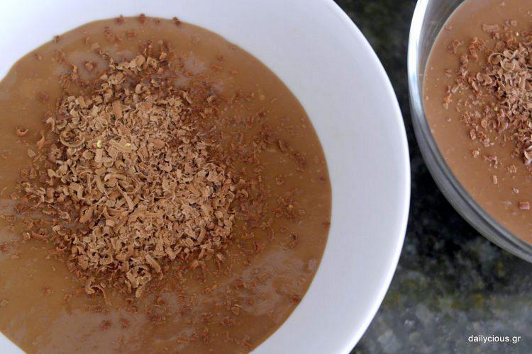 Κρέμα σοκολάτα (Γρήγορη κι Εύκολη)