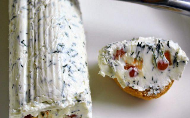 Ρολό με τυρί κρέμα και μπρικ (Άλειμμα)