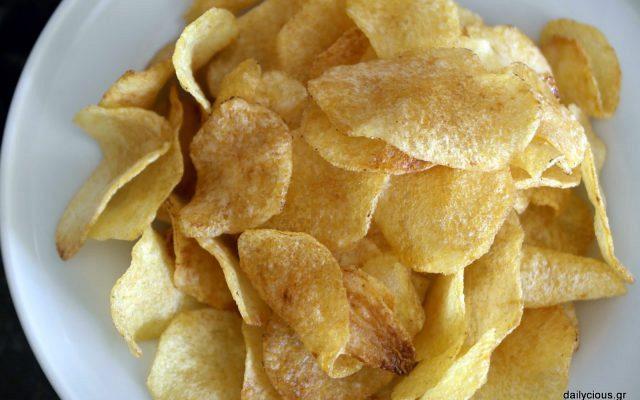 Σπιτικά πατατάκια (τσιπς)