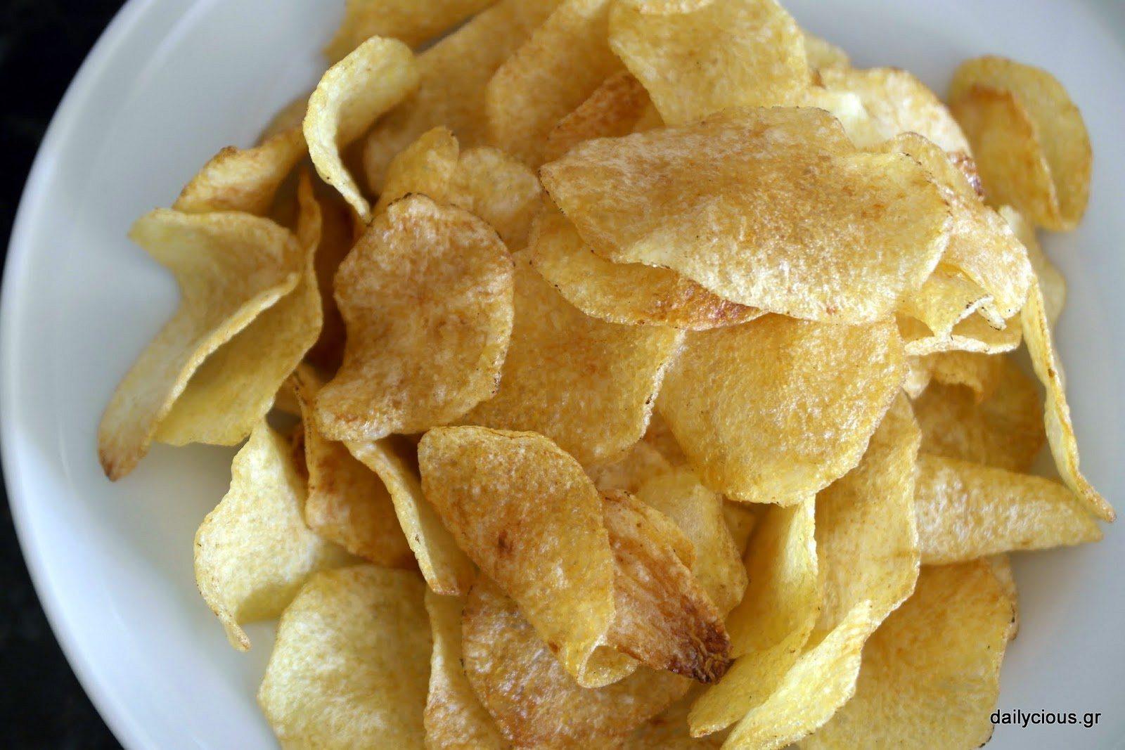 Σπιτικά πατατάκια (τσιπς) | Dailycious.gr