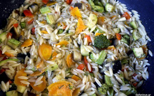 Κριθαρότο λαχανικών