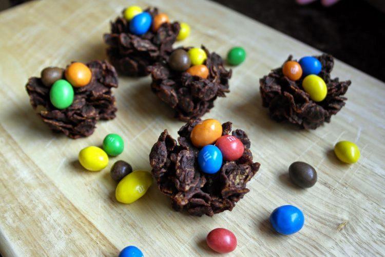 Πασχαλινές φωλίτσες σοκολάτας