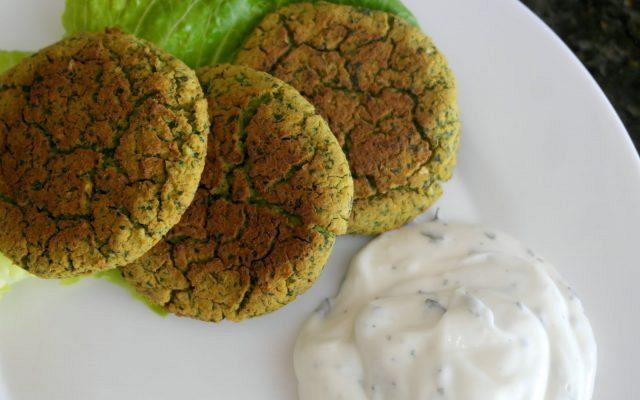 Ρεβυθοκεφτέδες στο φούρνο (φαλάφελ)