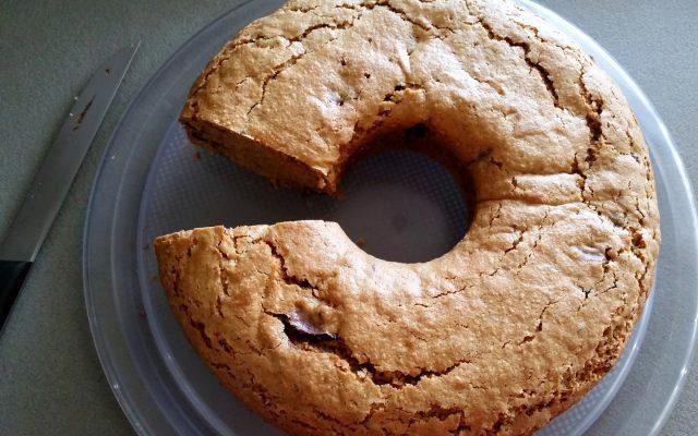 Κέικ νηστίσιμο με σοκολάτα