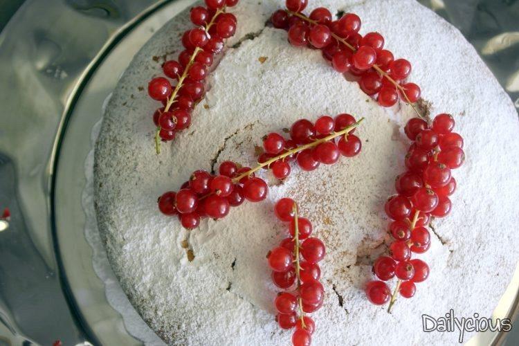 Βασιλόπιτα κέικ (αφράτη)
