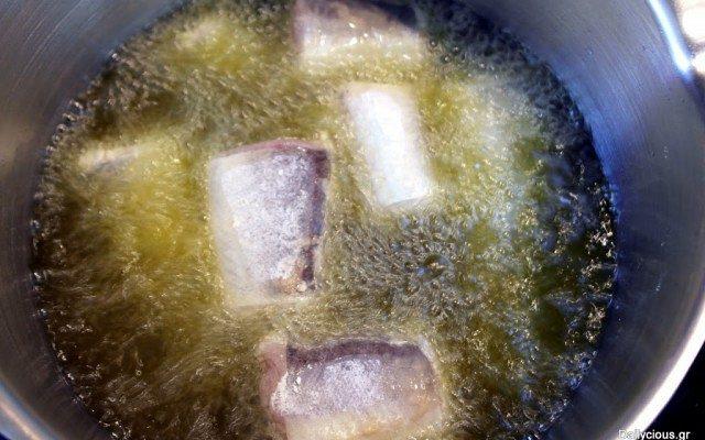Μπακαλιάρος τηγανητός (φρέσκος)