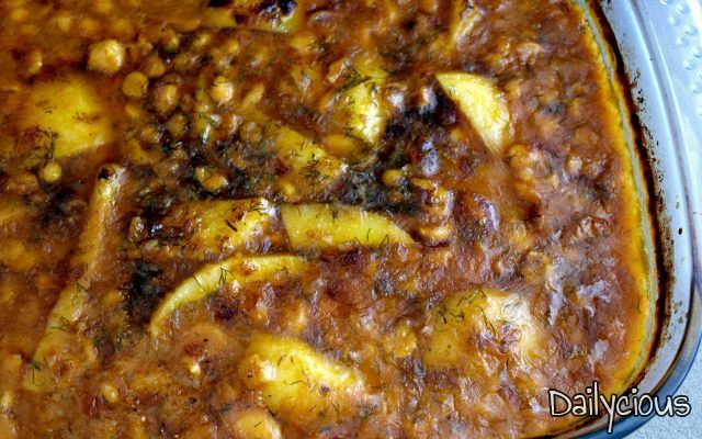 Oven baked legumes