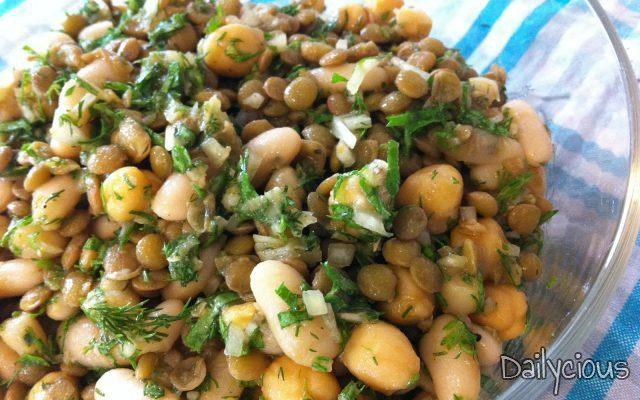 Οσπριάδα (σαλάτα οσπρίων)