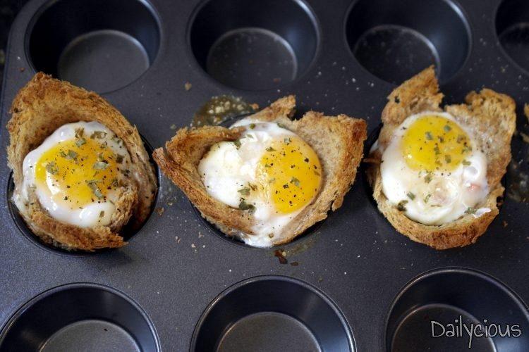 Αυγά στο φούρνο