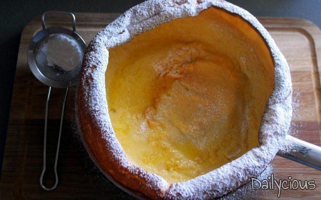 Dutch Baby (Pancake Τηγανίτα Φούρνου)