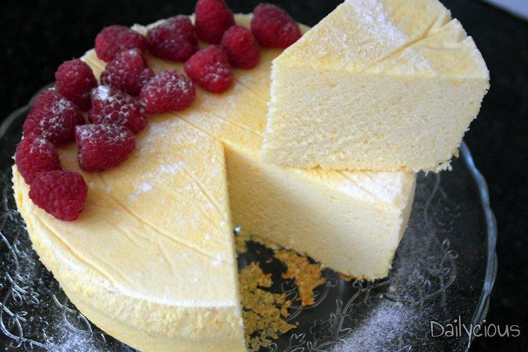 Γιαπωνέζικο Τσιζκεικ (Japanese Cotton Cheesecake)