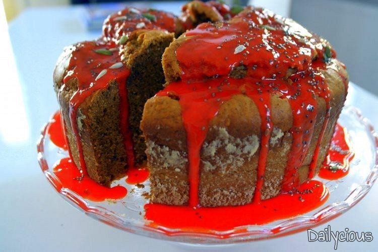 Κέικ με Γλυκοπατάτα