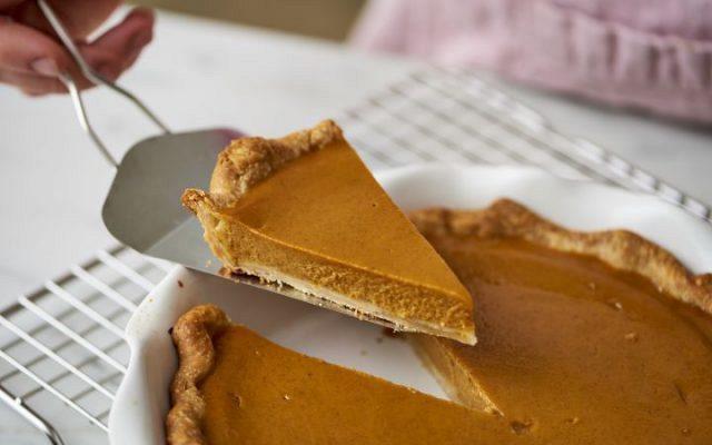 Γλυκιά Τάρτα Κολοκύθας (Pumpkin Pie)