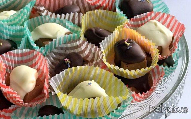 Σοκολατένιες Μπουκιές Κάστανου