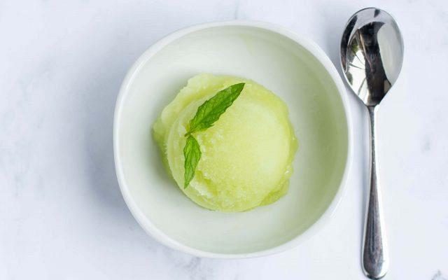 Παγωτό Πεπόνι (Σορμπέ)