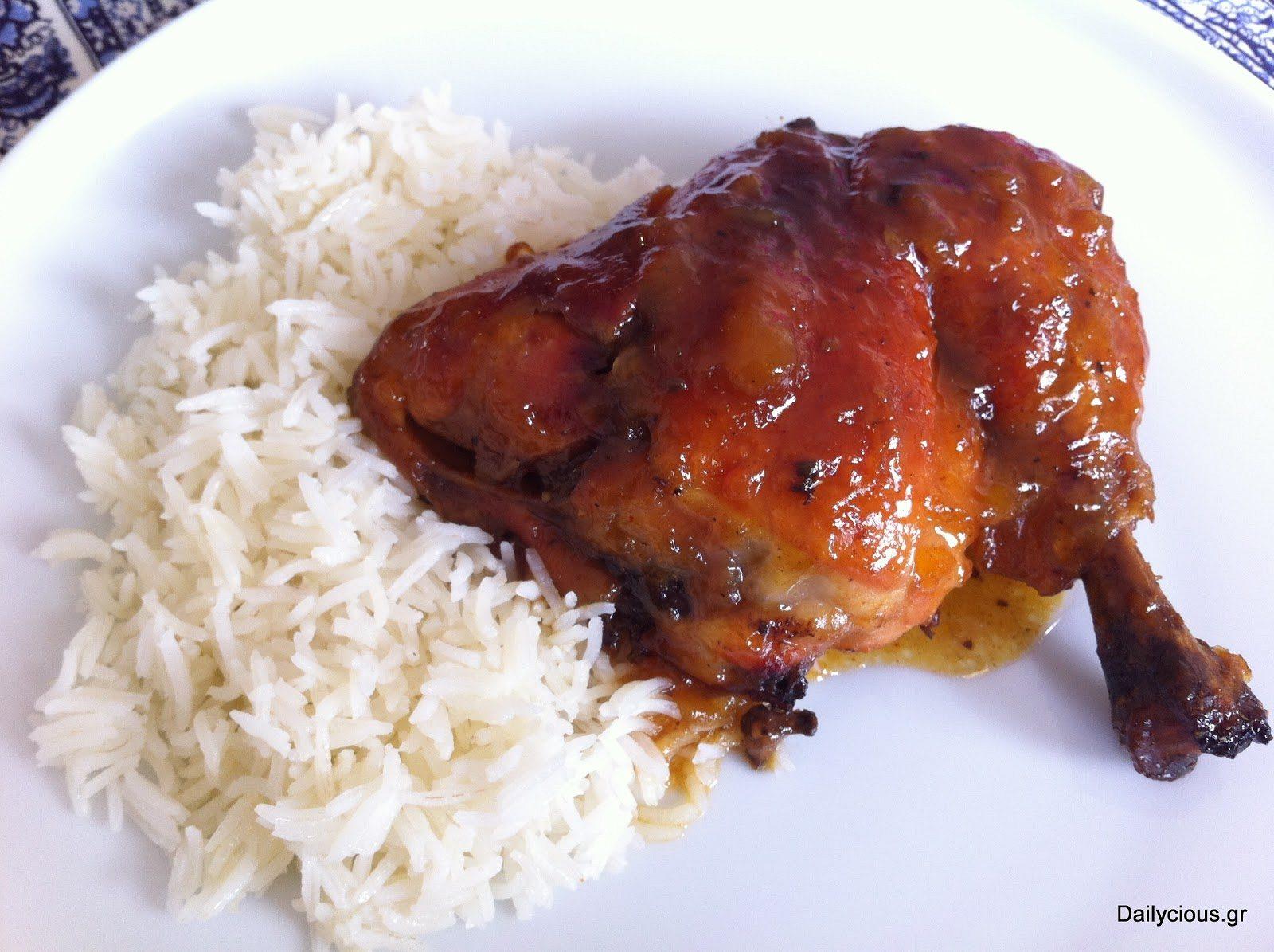 Γρήγορο γλυκόξινο κοτόπουλο