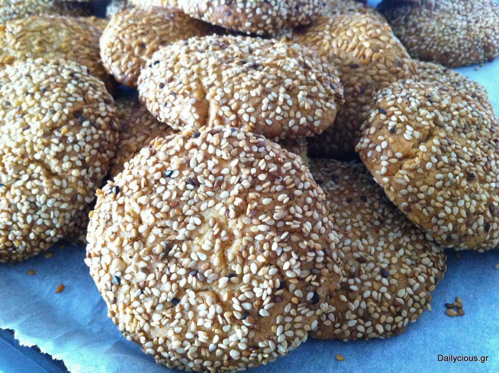 Αρωματικά μπισκότα (νηστίσιμα)