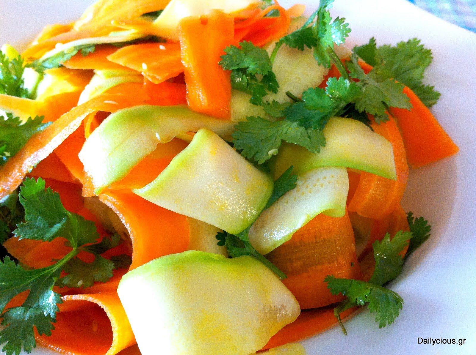 Πρωτότυπη σαλάτα λαχανικών