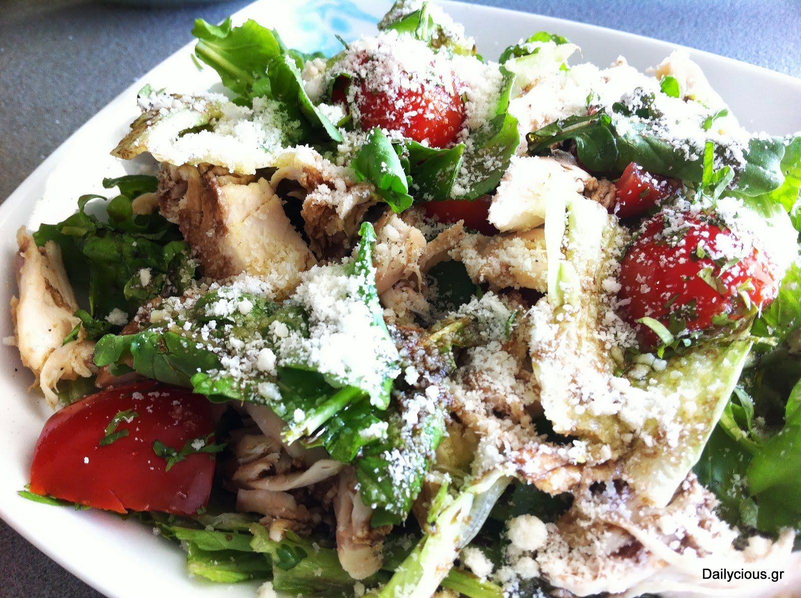 Σαλάτα του Καίσαρα (γρήγορη)