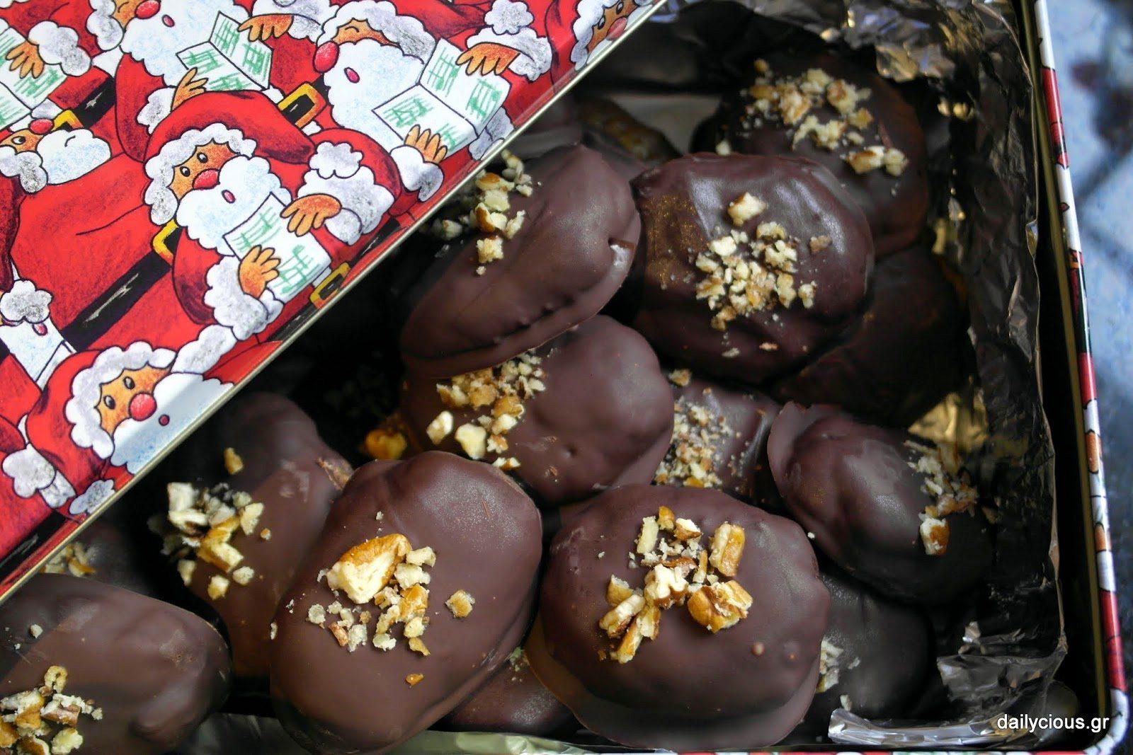 Σοκολατένια Μελομακάρονα