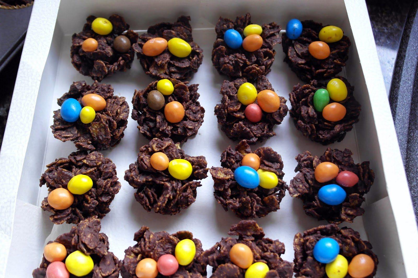 Σοκολατένιες Φωλίτσες για το Πάσχα