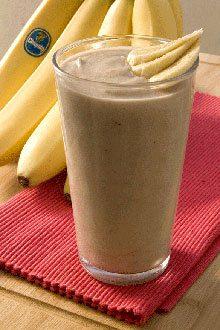 Σμούθι (smoothie) μπανάνα σοκολάτα